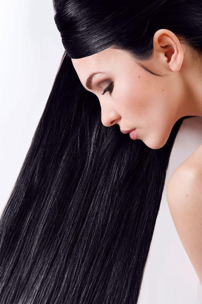 Farba do włosów SANOTINT CLASSIC – 01 CZARNY - Farba na bazie naturalnych składników